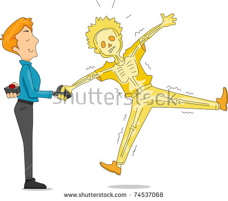illustration-of-a-man-pulling-an-electric-handshake-prank-boy-playing-pranks-clipart-450_396