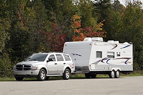 SUV-with-travel-trailer