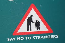 Image result for stranger danger