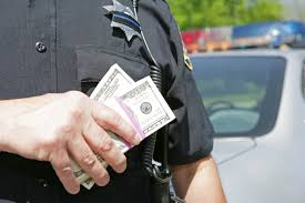 Image result for police making money